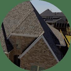 Shingle Roof on House
