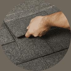 Laying Asphalt Shingles on Roof